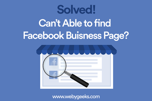 find my facebook page